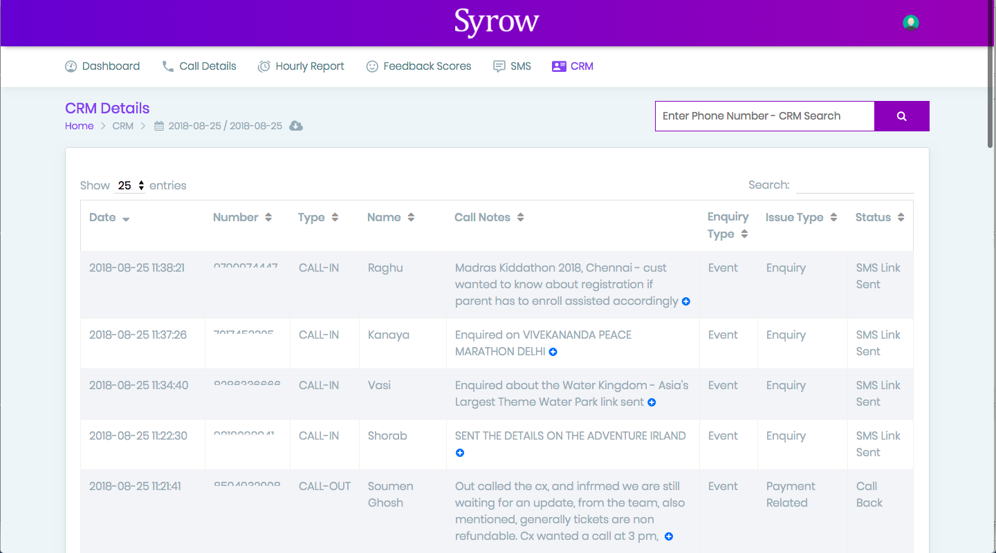 Syrow CRM