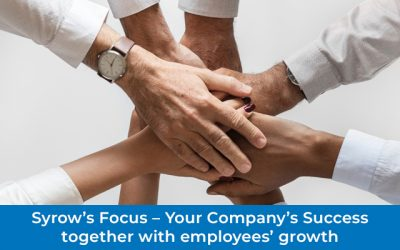 Syrow's Focus – Your Company's Success Together With Employees' Growth