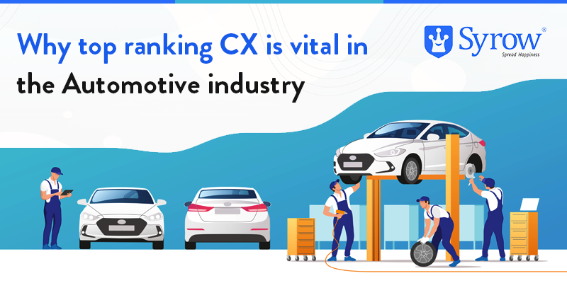 Why top ranking CX is vital in the Automotive industry